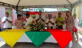 Indígenas Mokaná de Malambo conmemoran 10 años del Restablecimiento de sus Derechos