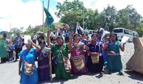 Panamá: Indígenas salen a protestar por hidroeléctrica en varios puntos