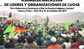 Pueblos originarios de macro región sur del Perú, condenan por demencial y criminal actividad extractiva