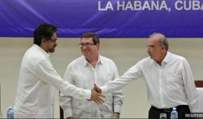 Se firmó acuerdo con las FARC. Vamos por la Paz